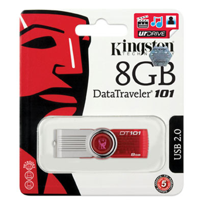 Kingston 8GB Pendrive DT 101 G2 - 3�v garancia